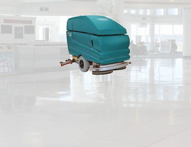 Equipo de limpieza para industria de aviación y transporte