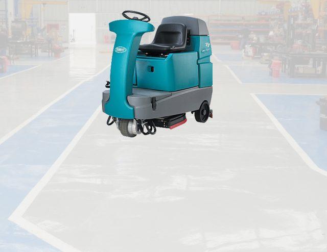 Microrestregadoras limpieza talleres automotrices