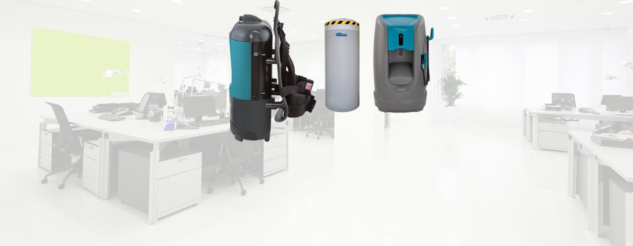 Equipo para profesionales de limpieza