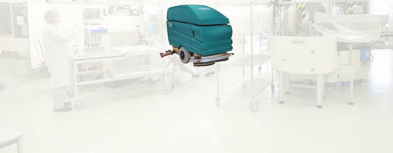 Equipo de limpieza para la Industria Farmaceutica