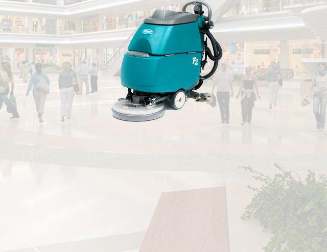 Equipo de limpieza para centros comerciales
